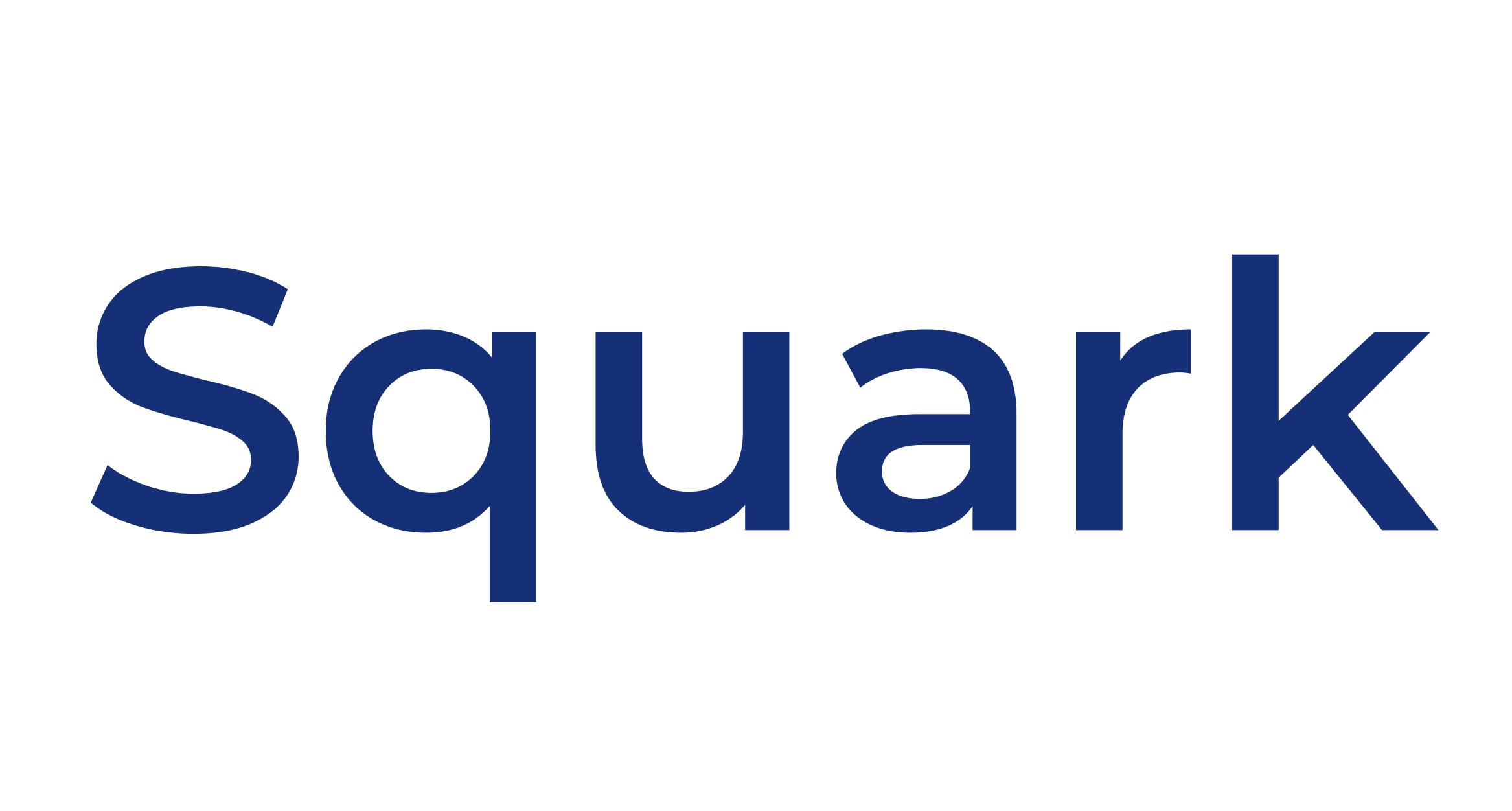 Exemple d'utilisations du logo autorisé Squark