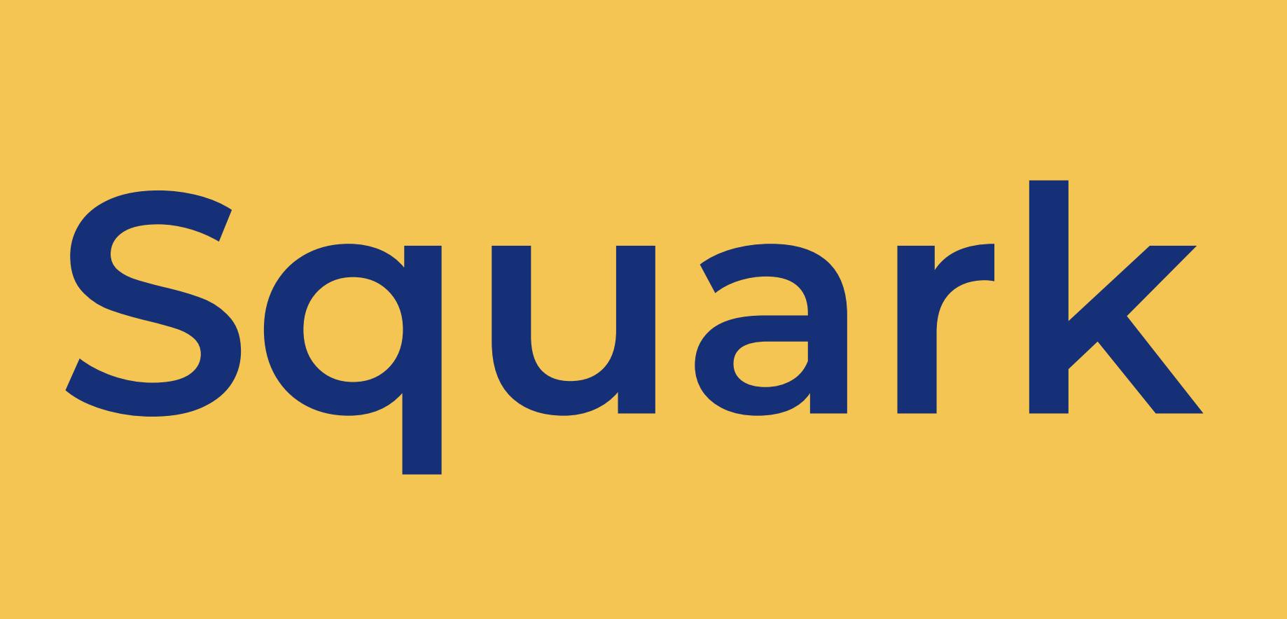 Exemple d'utilisations du logo interdites Squark